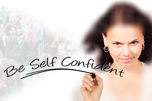 self-confidence is the most important quality for...