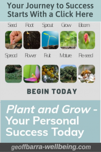 plant and grow your personal success ad.