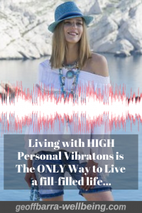 woman living with high vibrations