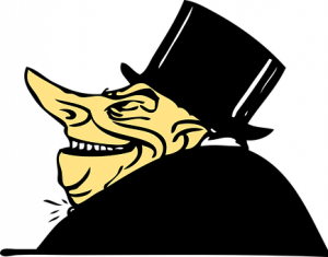 image of a banker