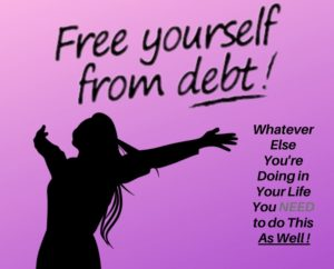 We Cannot Live Properly Without Getting Out of Debt image