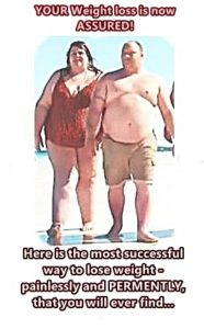 two people needing to lose weight