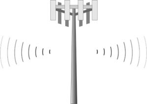 cell tower emf rays